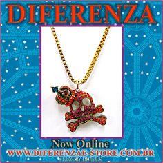 DIFERENZA NECKLACE #diferenza #jewelry #fashionjewelry #NECKLACE #luxury #online #colares #madeinbrazil  www.diferenzae-store.com.br