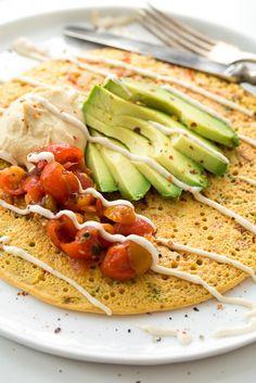 Chickpea pancake / ohsheglows