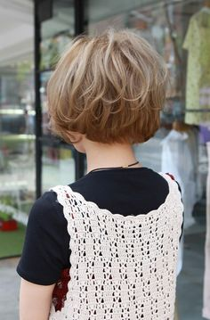 Cute bob! I especially like the back.  Short Hairstyles for 2015 | Pretty Designs