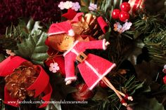 Quecas de Fieltro  / Dolls felt Mama Noel mod22 http://accesoriosdulcescaramelos.blogspot.com.es/search/label/Mu%C3%B1ecas%20%28Quecas%20de%20Fieltro%29