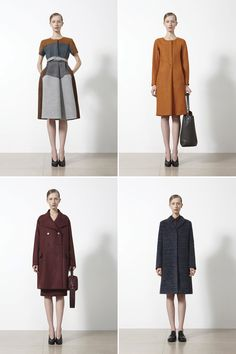 love the shapes if not the colors and yes, love jil sander always