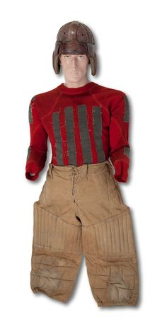 Game Worn Football Uniform Likely Dating To Circa The 1940