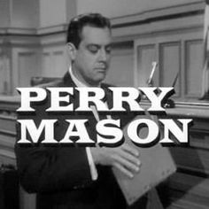 Starring Raymond Burr as Perry Mason
