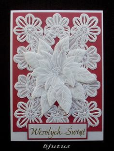 christmas Paper Art, Paper Crafts, Parchment Cards, Christmas Traditions, Quilling, Christmas Cards, Crafty, Frame, Projects