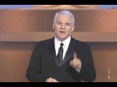 Steve Martin hosting the Oscars® - YouTube
