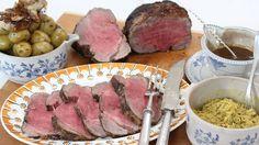 La presentadora Tania Llasera, hija de madre inglesa y amante de la cultura británica, cuenta en qué consiste la tradición del 'Sunday roast' y cocina al alimón con David de Jorge un asado de ternera al estilo inglés.