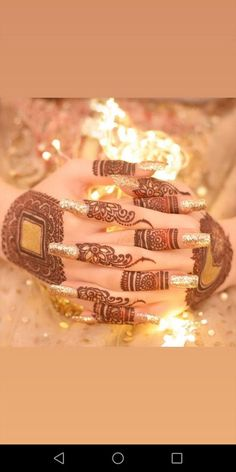 Ideas indian bridal nails jewelry for 2019 Finger Henna Designs, Henna Art Designs, Stylish Mehndi Designs, Mehndi Designs For Beginners, Mehndi Design Photos, Mehndi Designs For Fingers, Beautiful Henna Designs, Best Mehndi Designs, Dulhan Mehndi Designs