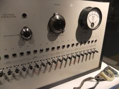 "Milgram's original ""shock box"" displayed at the Ontario Science Centre. Learn more about Milgram's infamous study including recent revelations that may make the experiment even MORE controversial."