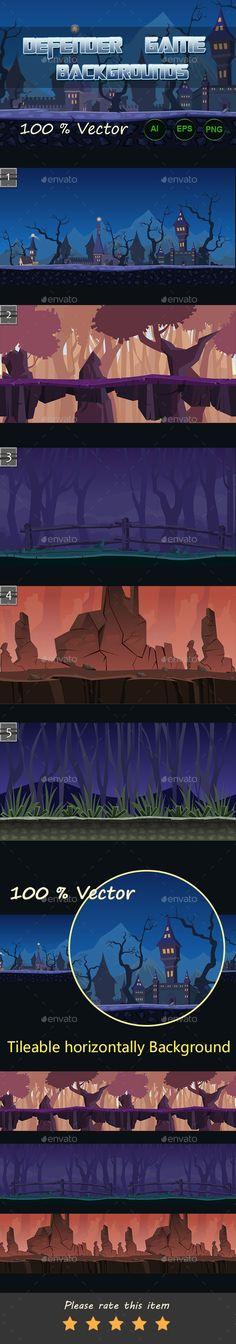 Defender game backgrounds Download here: https://graphicriver.net/item/defender-game-backgrounds/11668077?ref=KlitVogli
