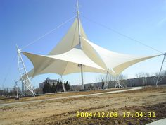 architecture commercial tension fabric structure,membrane structure