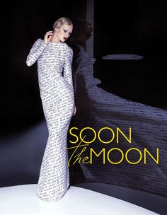 Poetic Fashion Photoshoots - The SOON the MOON Photo Series Appears Inspired by the '90s (GALLERY)