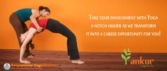Take your Involvement with ‪#‎yoga‬ a notch higher as we transform it into a ‪#‎career‬ ‪#‎opportunity‬ for you !