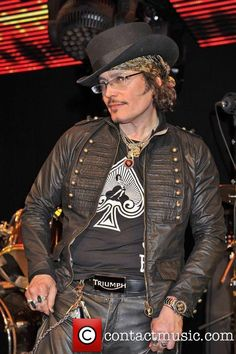 Adam Ant  performs at 'Under The Bridge'...