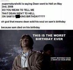 Worse birthday ever