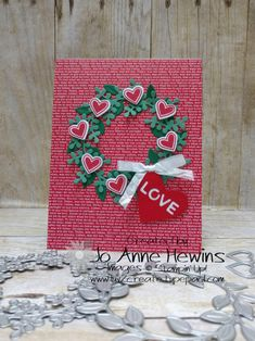 Valentine Greeting Cards, Homemade Valentines, Valentine Wreath, Valentine Day Crafts, Love Valentines, Christmas Cards, Printable Valentine, Valentine Ideas, Valentines Illustration
