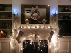 T his week promises to be a busy one, with more holiday decorating and shopping. I wanted to take a minute to share my Christmas mantle dec...