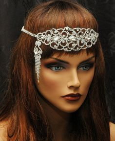 Hey, I found this really awesome Etsy listing at https://www.etsy.com/ca/listing/227475750/1920s-gatsby-headpiece-rhinestone
