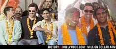 Dinesh Patel, J.B. Bernstein, Rinku Singh celebrate in India