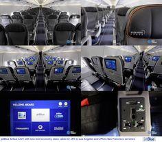 jetBlue Airbus A321-200 new mint cabin