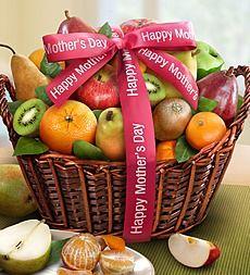 Premier Orchard Fruit Gift Basket - Happy Mother's Day Premier Orchard Fruit Basket