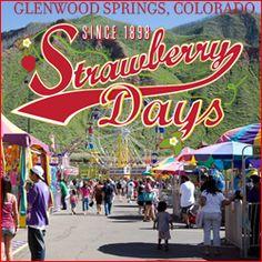 Strawberry Days Festival - Glenwood Springs Colorado