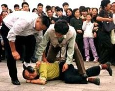 One of the many persecutions of Christians in China