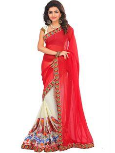 e9b3e03b6044ea 8 Best Amazing Peacock design kacchi work sarees images in 2016 ...