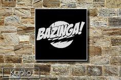 Bazinga (The Big Bang Theory) Cross Stitch Pattern