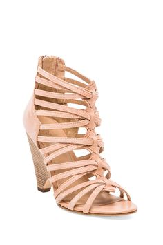Belle by Sigerson Morrison Annie 2 Sandal in Rosa & Apricot