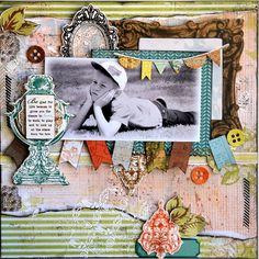 Kaiser Marigold Be. Scrapbook Layouts, Scrapbook Pages, Marigold, Boys, Ideas, Baby Boys, Smash Book Pages, Scrapbooking Layouts, Thoughts