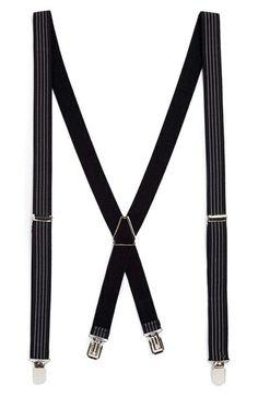 Groomsmen accessory idea: Suspenders! #quirky #fun