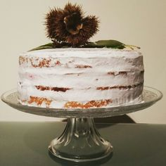 Naked cake - outono