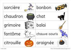 La classe de Laurène: Les étiquettes mots