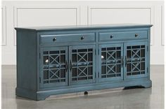 Annabelle Blue 70 Inch Tv Console - Main