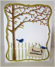 Fall Anniversary by Conniecrafter - Cards and Paper Crafts at Splitcoaststampers
