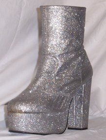 I'd wear these boots today.....Only if I could walk in them!!