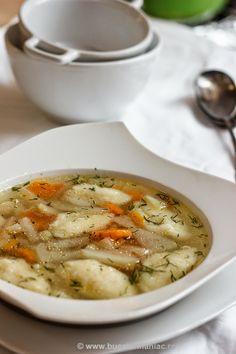 Supa de gulii cu galuste de gris ~ bucatar maniac