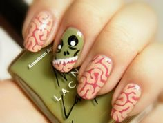 10 Must-Follow Nail Artists for Spooky Halloween Looks via Brit + Co.