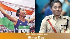 Sprint Queen & Golden Girl Hima Das Now A DSP | Women Community Online Football Tournament, Asian Games, Commonwealth Games, Online Blog, Golden Girls, Train Hard, Powerful Women, Ladies Day, Athlete