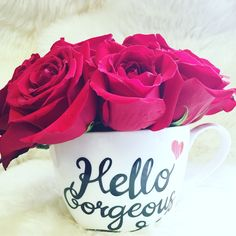 Hello gorgeous by Bonjour blooms