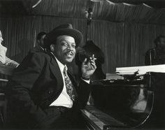 Count Basie, jazz pianist extraordinaire.