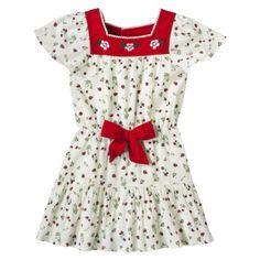 Love this dress! Harajuku Mini for Target® Toddler Girls Floral Print Dress - Beige