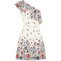 Buy Oasis V&A One Shoulder Dress, Multi from our Beach Bound range at John Lewis & Partners. One Shoulder Cocktail Dress, White Cocktail Dress, White Midi Dress, White Floral Dress, Shoulder Dress, Cocktail Dresses, Long Sleeve Mini Dress, Short Sleeve Dresses, Dress Long