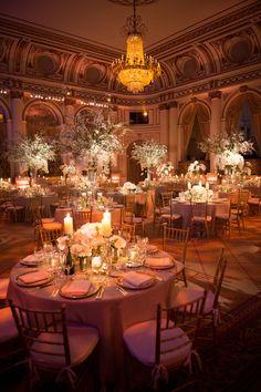 The Plaza Wedding Reception Glamorous wedding! Wedding Venue Decorations, Wedding Reception Venues, Wedding Themes, Wedding Events, Wedding Ideas, Tent Wedding, Weddings, Aisle Decorations, Luxury Wedding Venues