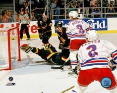 Brian Leetch Game 7 1994 Stanley Cup Finals Photo Print (20 x 24) 8af23a788
