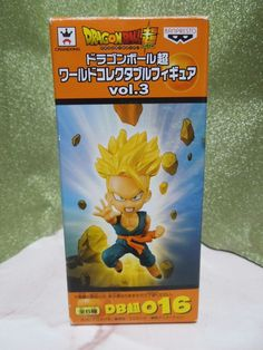 NEW Dragon Ball Super World Collectable Figure Vol.3 Trunks