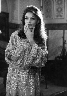 Anouk Aimee, vintage photo