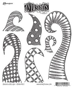 New Dylusions Ink Sprays, Stencils & Stamps!   Ranger Ink and Innovative Craft Products