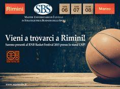 Il Master SBS a RNB Basket Festival 2015 a Rimini! #masterinsport