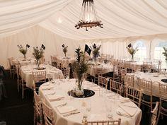Oval tables create a dinner party at each table Oval Table, Table Decorations, Summer 2015, Party, Tables, Weddings, Dinner, Create, Home Decor